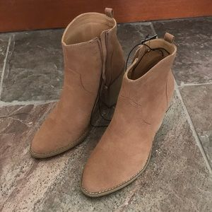 Brand new with tags- express tan booties